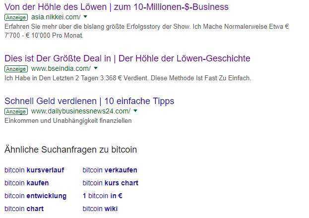Bitcoin System Höhle-der-Löwen